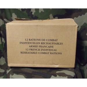 Carton de 12 rations RICR